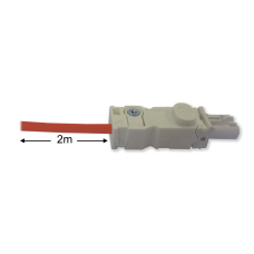 Connection cable with Wieland female connector, 3m WK 400712